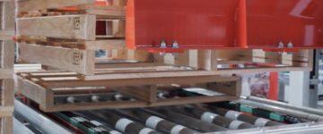 Pieri motorised roller conveyors